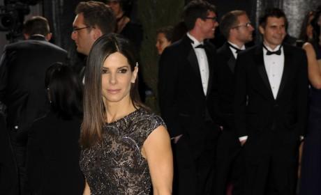 Sandra Bullock Oscars Gown