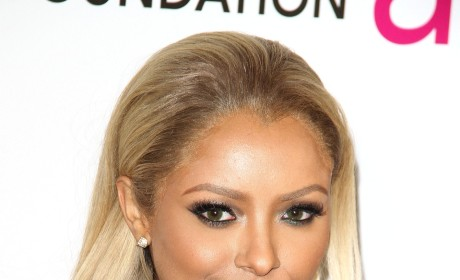What do you think of Kat Graham's blonde hair?