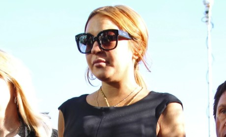 Lindsay Lohan: Cleared in Fortune Teller Assault Case!