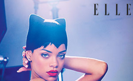 Rihanna in Elle UK Photo