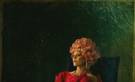 Effie Trinket Portrait Kicks Off Catching Fire Promotion, Capitol Couture
