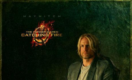 Catching Fire Portrait, Take 2: It's Haymitch!