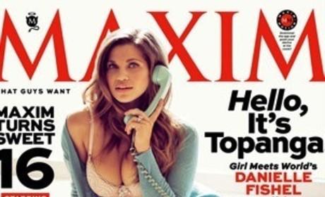 Danielle Fishel Maxim Cover