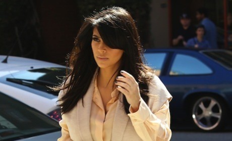 Kim Kardashian Divorce Scenes: Scripted! Phony!