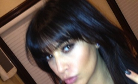 Kim Kardashian's bangs: What do you think?