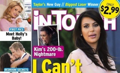 Kim Kardashian Fat Cover