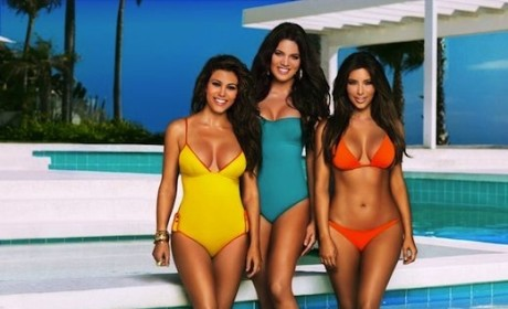 Kim, Khloe and Kim Kardashian