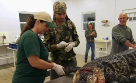 Tori Spelling Slams Scott Disick for Alligator Hunting