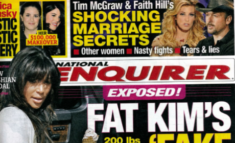 Is Kim Kardashian faking her pregnancy?