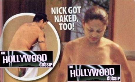 Nick Lachey, Vanessa Minnillo Nude
