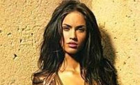 Megan Fox is Topless and For Legalizing Marijuana