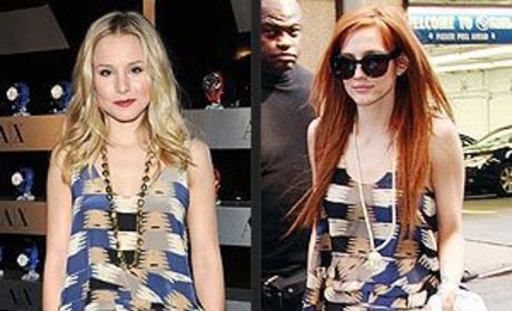 Fashion Face-Off: Kristen Bell vs. Ashlee Simpson