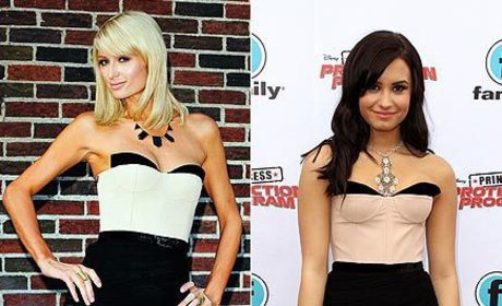Fashion Face-Off: Paris Hilton vs. Demi Lovato