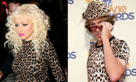Fashion Face-Off: Christina Aguilera vs. Bruno