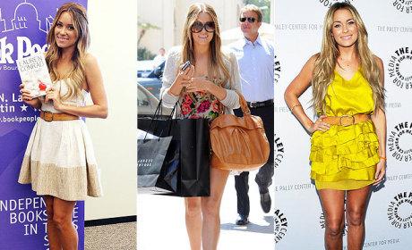 Celebrity Style Watch: Lauren Conrad's Sandals