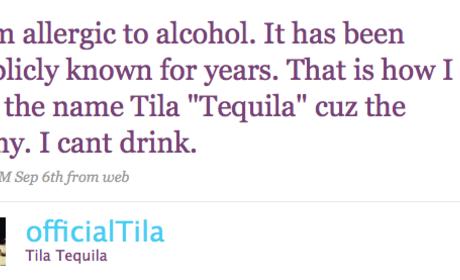 Shawne Merriman: Tila Tequila Was Drunk
