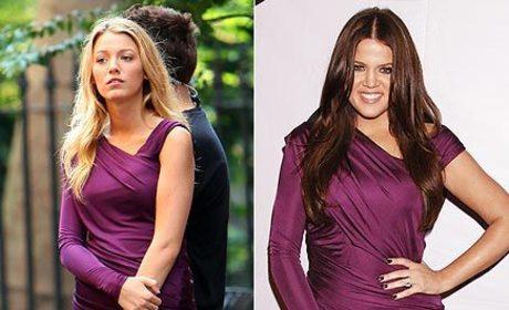 Fashion Face-Off: Blake Lively vs. Khloe Kardashian