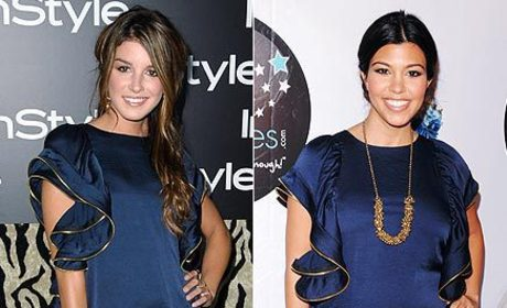 Fashion Face-Off: Shenae Grimes vs. Kourtney Kardashian