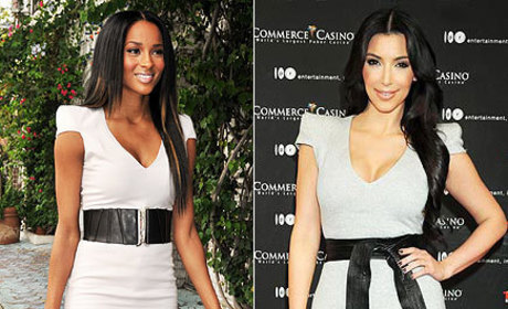 Fashion Face-Off: Ciara vs. Kim Kardashian