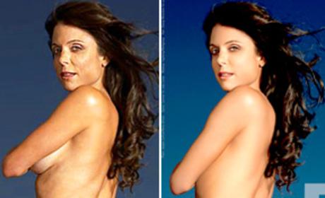 Bethenny Frankel Defends Naked Body, PETA Ad
