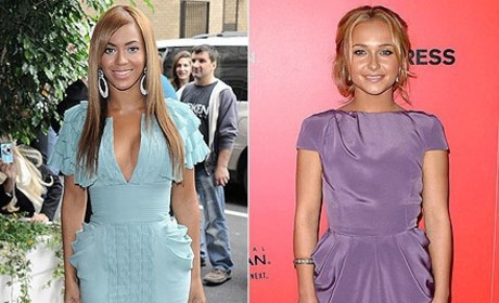 Fashion Face-Off: Beyonce vs. Hayden Panettiere