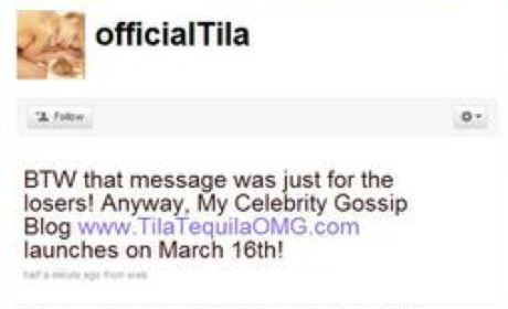 OMG! Tila Tequila is NOT Pregnant!