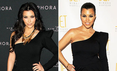 Kim v. Kourtney: Klash of the Similarly-Klad Kardashians
