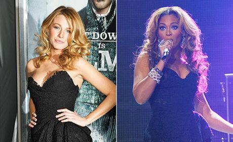 Fashion Face-Off: Blake Lively vs. Beyonce