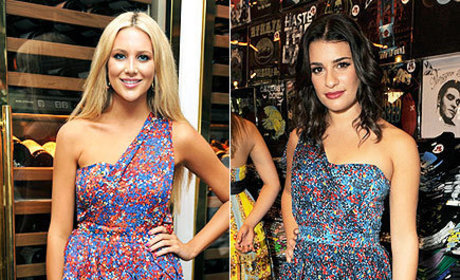 Fashion Face-Off: Stephanie Pratt vs. Lea Michele