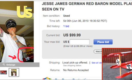 Jesse James Attempts, Fails to Cash in on Nazi Photo as Auction Crashes and Burns