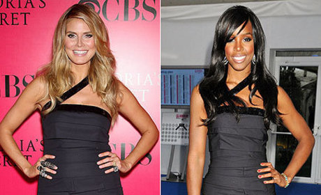 Fashion Face-Off: Heidi Klum vs. Kelly Rowland