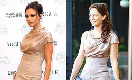 Celebrity Fashion Face-Off: Victoria Beckham vs. Leighton Meester