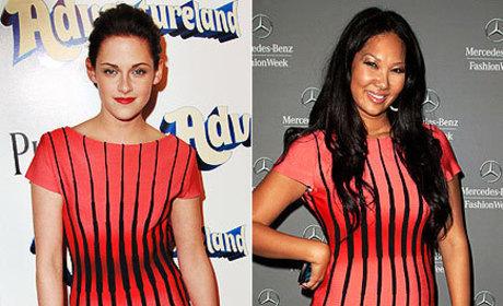 Fashion Face-Off: Kristen Stewart vs. Kimora Lee Simmons