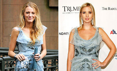 Who wore it better, Blake or Ivanka?