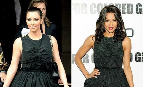 Fashion Face-Off: Kim Kardashian vs. Ciara