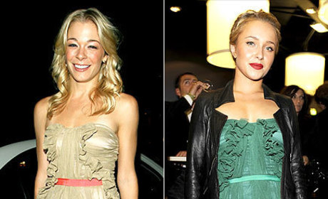 Celebrity Style Showdown: LeAnn Rimes vs. Hayden Panettiere
