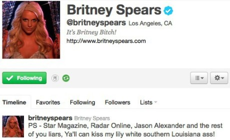 Britney Spears to Ex-Husband, Tabloids: Y'all Can Kiss My A$$!
