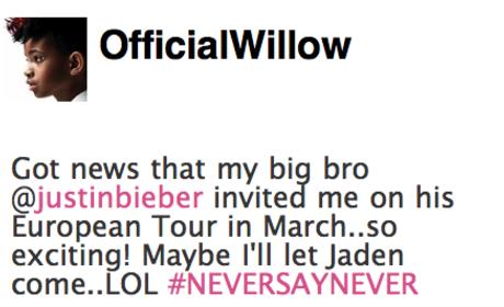 Justin Bieber Trading Cards, Tour Partner: Released, Revealed!