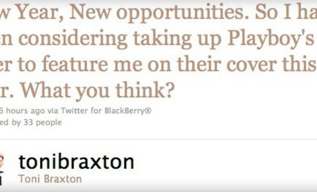 Toni Braxton Nude in Playboy: Coming Soon?