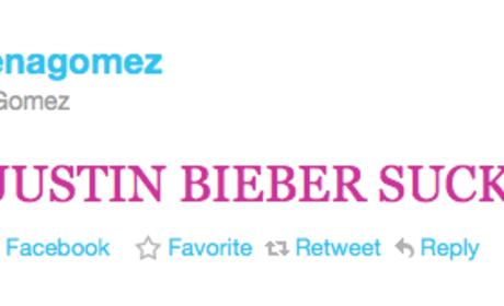 Selena Gomez Twitter, Facebook Hacked: Video Evidence!
