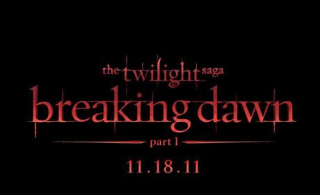 Breaking Dawn Movie Logo: Revealed!