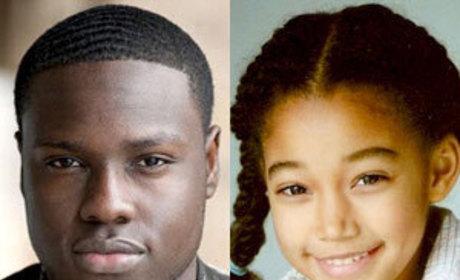 The Hunger Games Casts Dayo Okeniyi, Amandla Stenberg