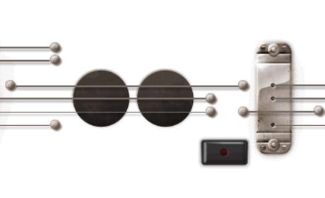 Google Logo Honors Les Paul, Features Playable Guitar Chords