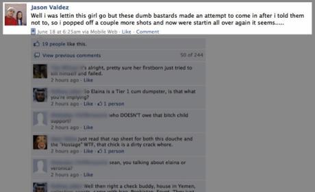 Utah Guy Takes Hostage, Updates Facebook Page
