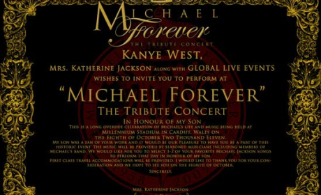Michael Jackson Estate Courting Big Names For Tribute Concert