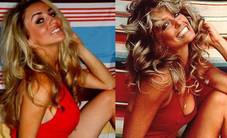 Courtney Stodden Channels Farrah Fawcett, Sharon Tate