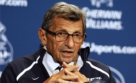 Joe Paterno, Disgraced Penn State Coach, Diagnosed with Lung Cancer