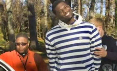 NFL Star Rolando McClain: Happiest Arrest Pic Ever!