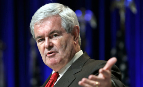 Newt Gingrich Vows Not to Cheat on Wife if Elected President