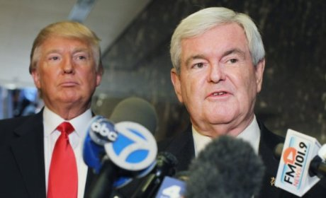 Donald Trump to Endorse Newt Gingrich For President ... or Mitt Romney?